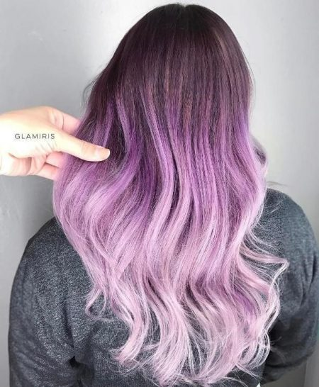Dark-Brown-Lavender-and-Lilac-Fade