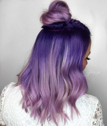 Electric-Blue-and-Dusty-Orchid-Ombre