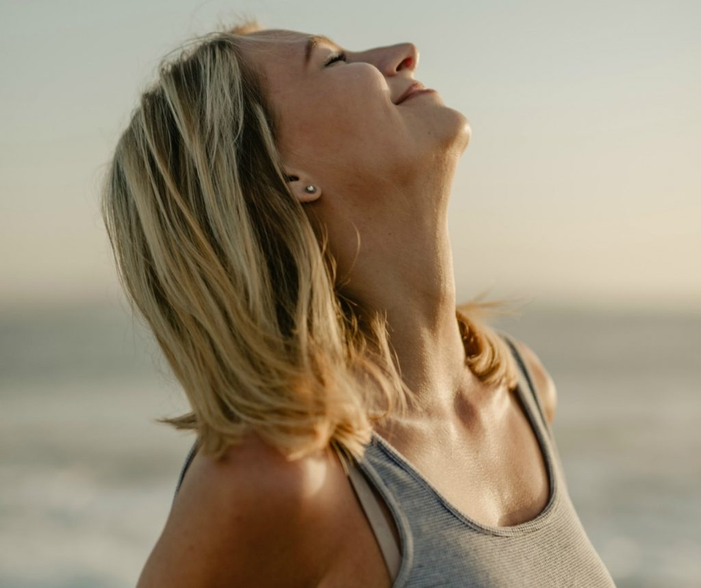 Reduce tension with breathing