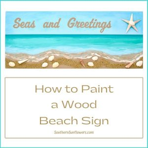 how-to-paint-a-wood-beach-sign-seas-and-greetings