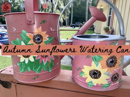 DIY-Autumn-Painted-Flowering-Cans