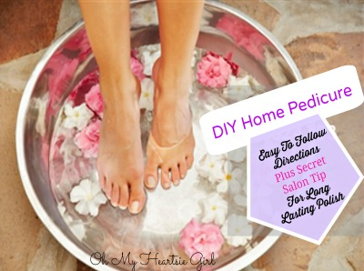 Save Money Do Pedicures At Home #Pedicures