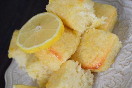 Lou-Lou-Girl-Lemon Brownies