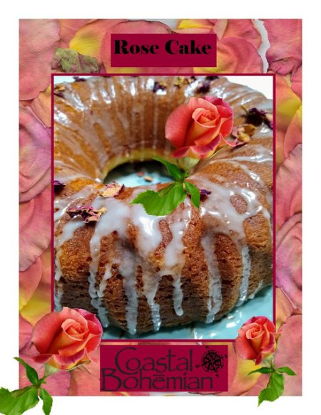 Coastal-Bohemian-Rose-Cake-with-Culinary-Rose-Petals