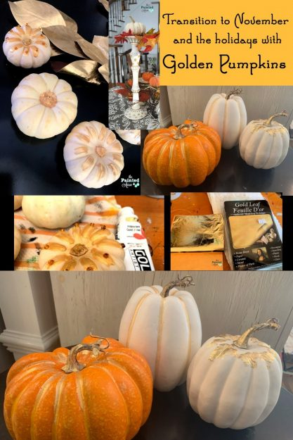 Golden-Pumpkins-and-candlestick