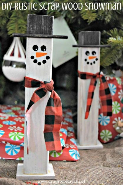Drug-Store-Dive-shows-us-how-to-make-rustic-scrap-wood-snowman
