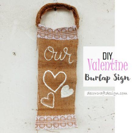 Burlap-Sign