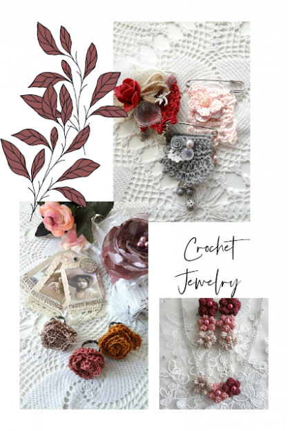 Crochet-Collage-Jewelry