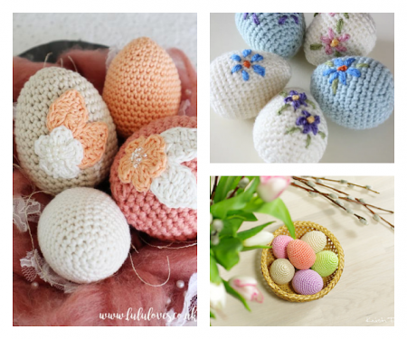 Crocheted-Easter-eggs