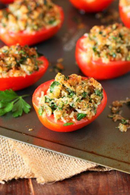 Parmesan-Broiled-Tomatoes
