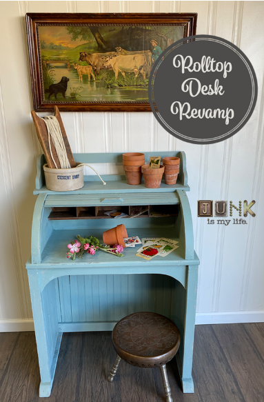 Roll-Top-Desk-Makeover-from-Junk-in-My-Life