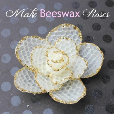 How-to-make-bees-wax-roses