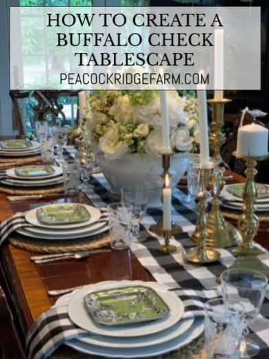 How-To-Create-Black-and-white-buffalo-check-tablescape