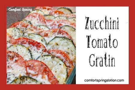 Zucchini-tomato-gratin