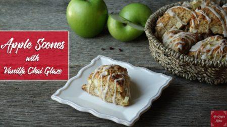 Apple-Scones-w-vanilla-glaze.