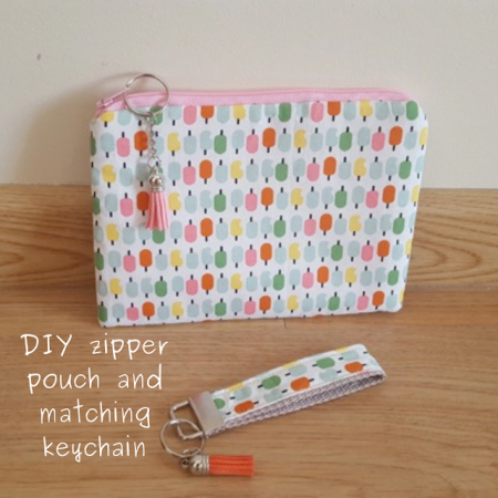 DIY-zipper-pouch-and-matching-keychain.